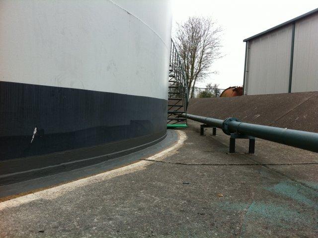 Vloeistofdicht afwerken tank terp aansluiting7